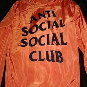 Anti Social Club Windbreaker